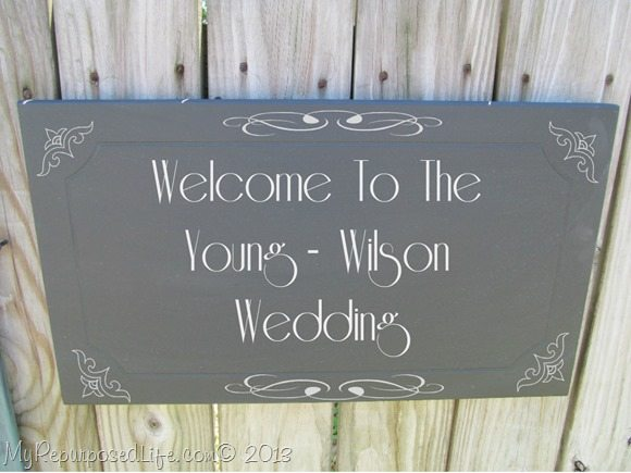 Welcome to the Young-Wilson Wedding