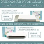 June Silhouette Promotion & Giveaway!