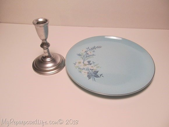 easy plate stand