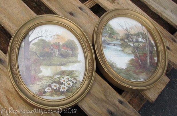 cheap oval plastic frames