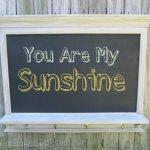 Faux Mantel Shelf Chalkboard
