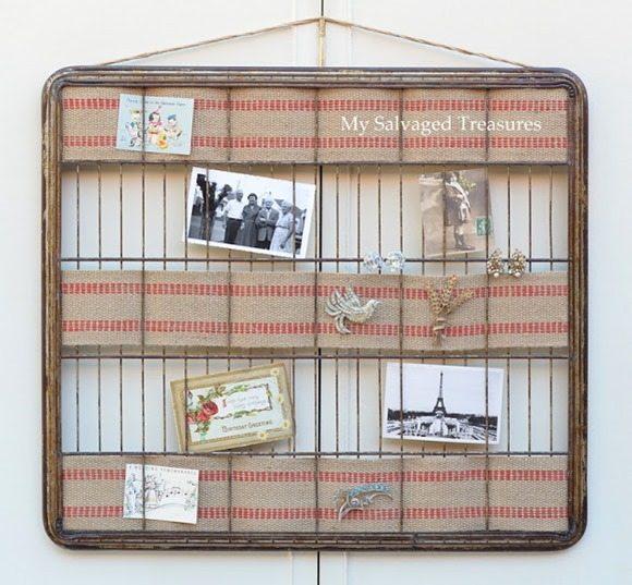 baker's rack into a memo (memory) board