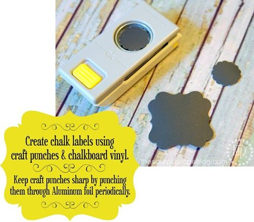easy chalkboard labels