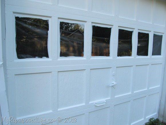 paint the garage door