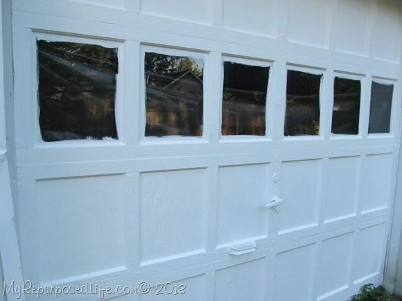 paint the garage door