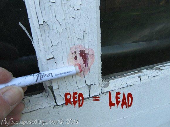 positive lead test