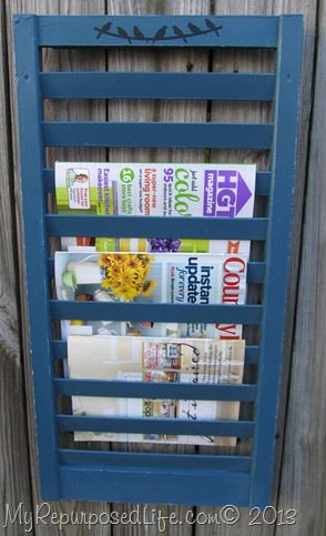 shutter magazine rack