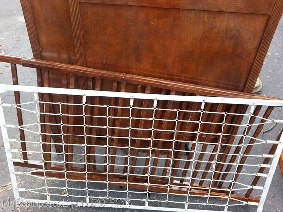 thrift store crib