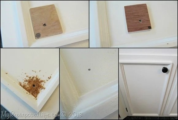 adding-knobs-to-cabinet-doors
