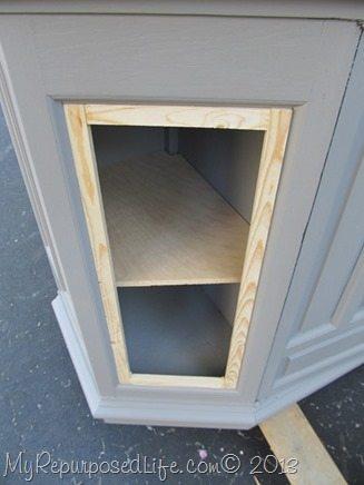 faux-door-frame
