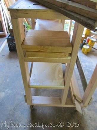 how-to-store-lumber-bench