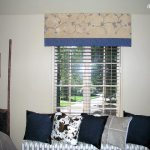 Fabric Covered Window Cornice