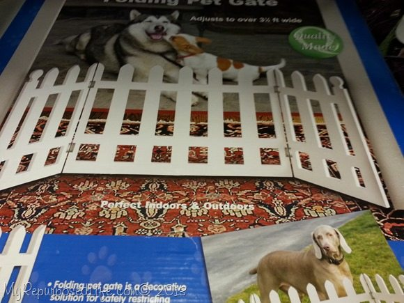 pet gate knockoff