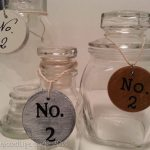 DIY number tags {spindles}