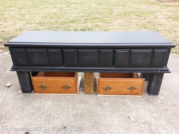 repurposed-dresser-kids-table