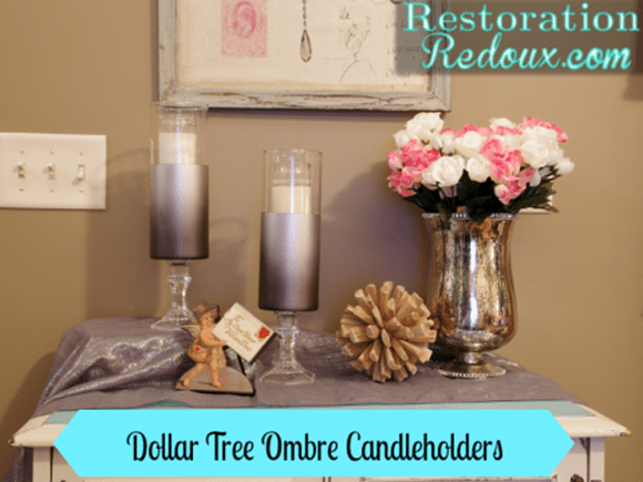 Ombre-dollar-store-candle-holders