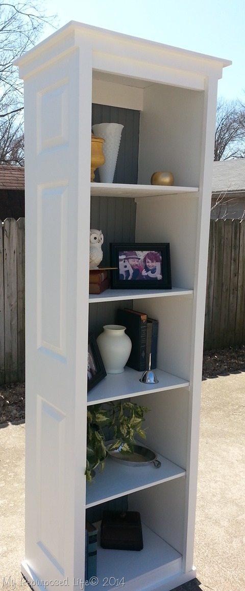 Bi Fold Door Bookshelf My Repurposed Life 174 Rescue Re