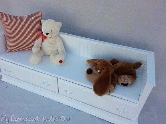 white-kids-bench-repurposed-dresser