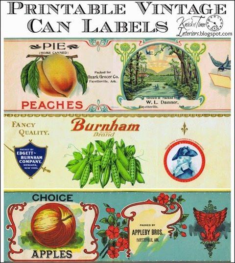 6 vintage-grocery-labels