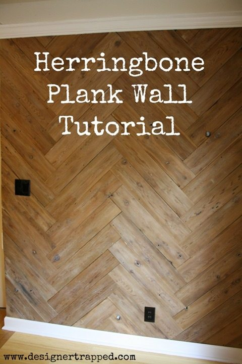 Herringbone-Plank-Wall-tutorial-reclaimed-fence