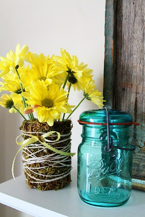 diy-moss-covered-vase