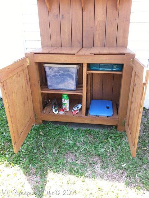 diy-potting-bench-storage