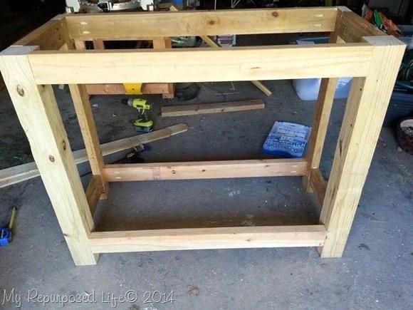 Diy Potting Table Bench My Repurposed Life 174