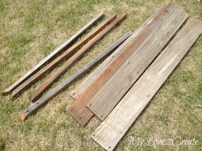 Old deck wood