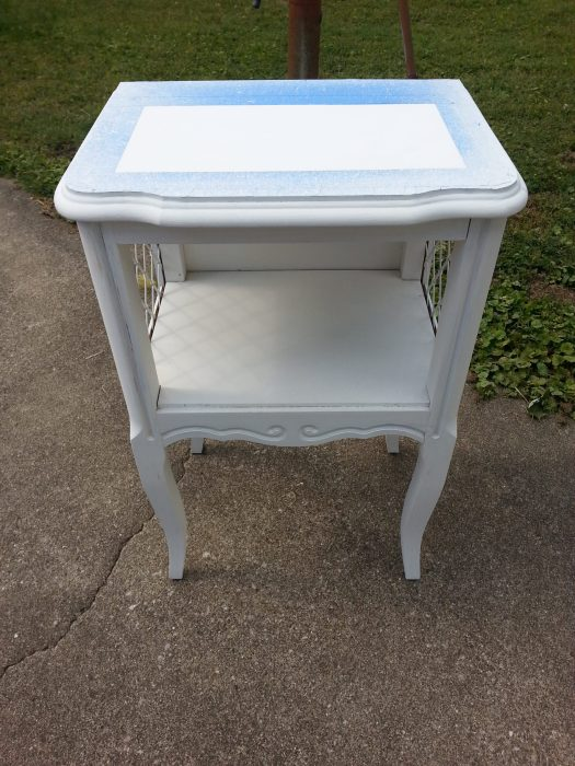 easy french provincial table makeover