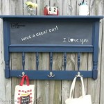 headboard chalkboard coat rack