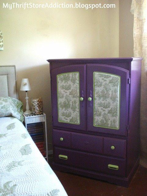 decoupaged-fabric-furniture