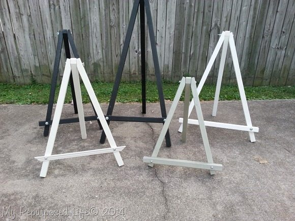 display-easels