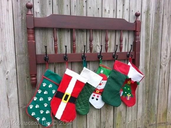 repurposed-bed-stocking-holder
