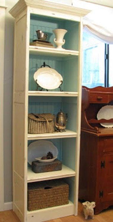 repurposed-door-shelf