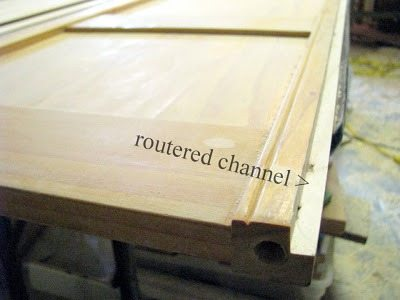 routered channel