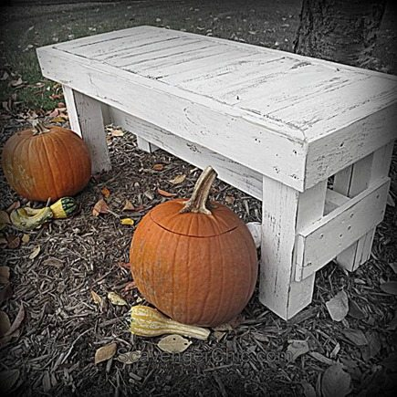 rustic-white-bench-table