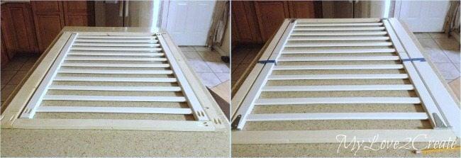 MyLove2Create: Repurposed Crib into Dog Crate