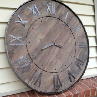MyLove2Create, Large Rustic Clock