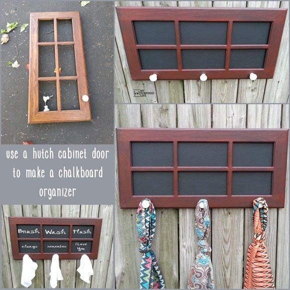 MyRepurposedLife-cabinet-door-organizer