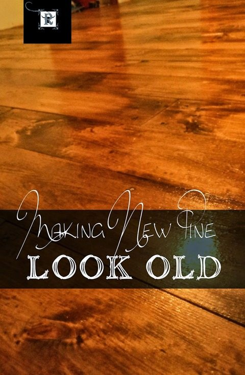 making new pine look old redoitinspirations