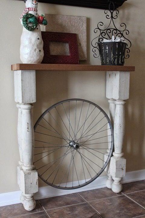 foyer-table-bicycle-wheel