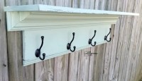 Large Coat Rack Shelf - My Repurposed Life