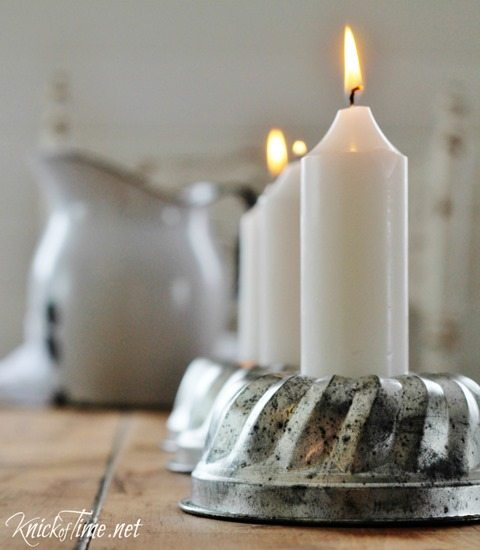 farmhouse-table-candle-centerpiece