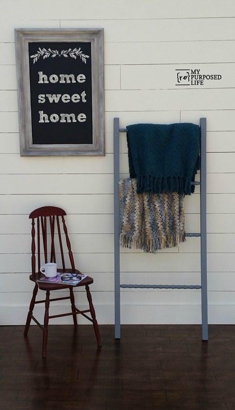 My-Repurposed-Life-DIY-Blanket-Ladder