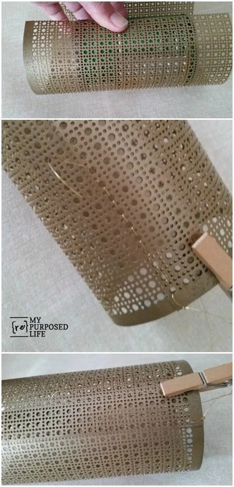 how-to-candle-cover-decorative-sheet-metal