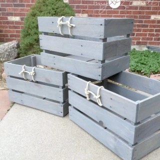 MyLove2Create, Stackable Pallet Crates