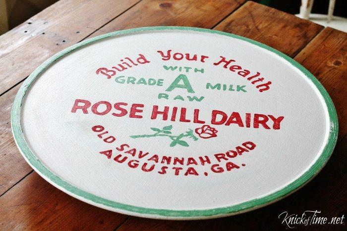 antique milk cap