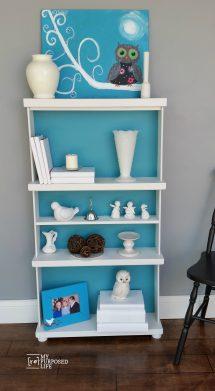 Repurposed Drawers Bookcase - Life