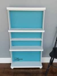 Repurposed Drawers Bookcase - My Repurposed Life