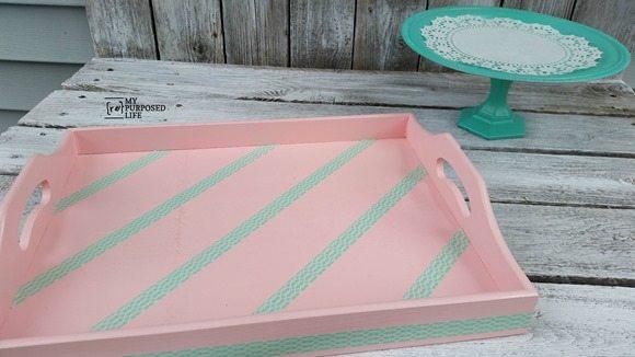 my-repurposed-life-wooden-tray-krylon-ballet-slipper-washi-tape